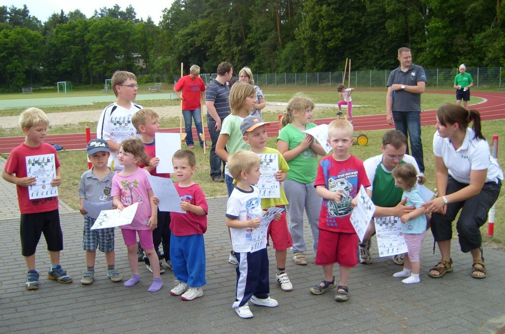 Kindersport in Bernau