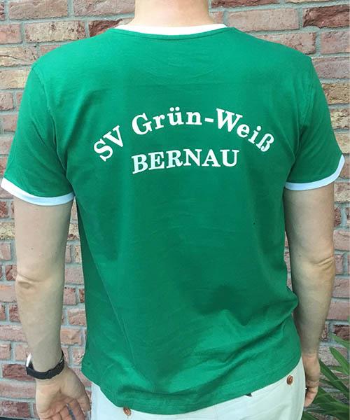 "Jersey ""Grün-Weiß"" Rückseite"