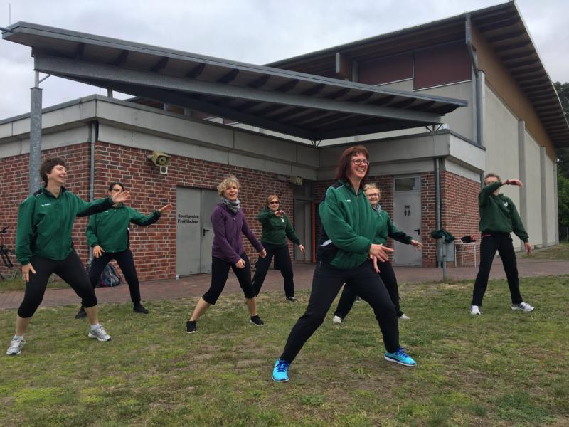 Frauengymnastik in Bernau