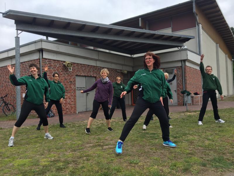 Sportübungen für Frauen