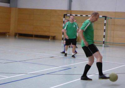 Ballannahme beim Fussballspiel