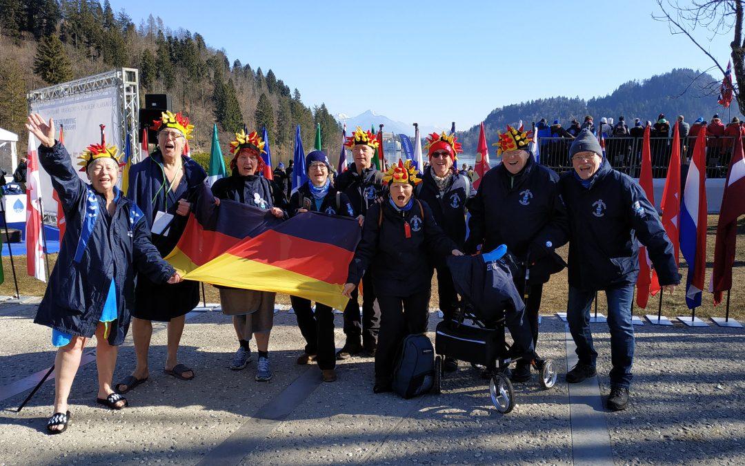Winterschwimmer-Weltmeisterschaft in Bled
